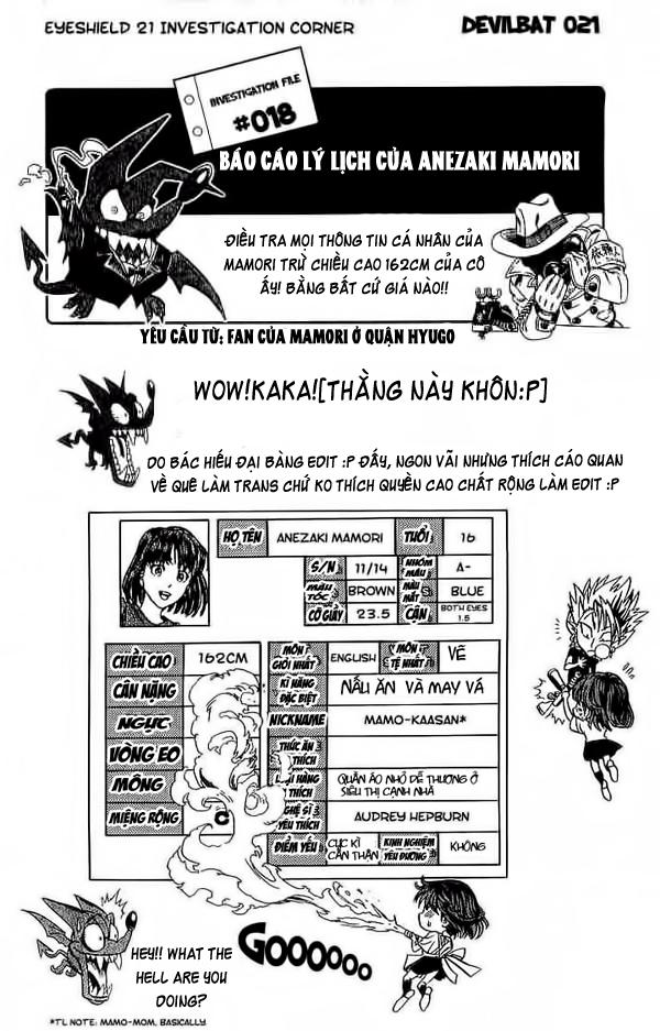 Eyeshield 21 chapter 82 trang 19