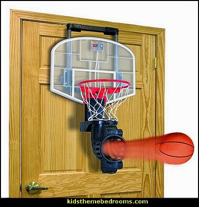 basketball theme bedrooms-all sports theme bedroom decorating ideas