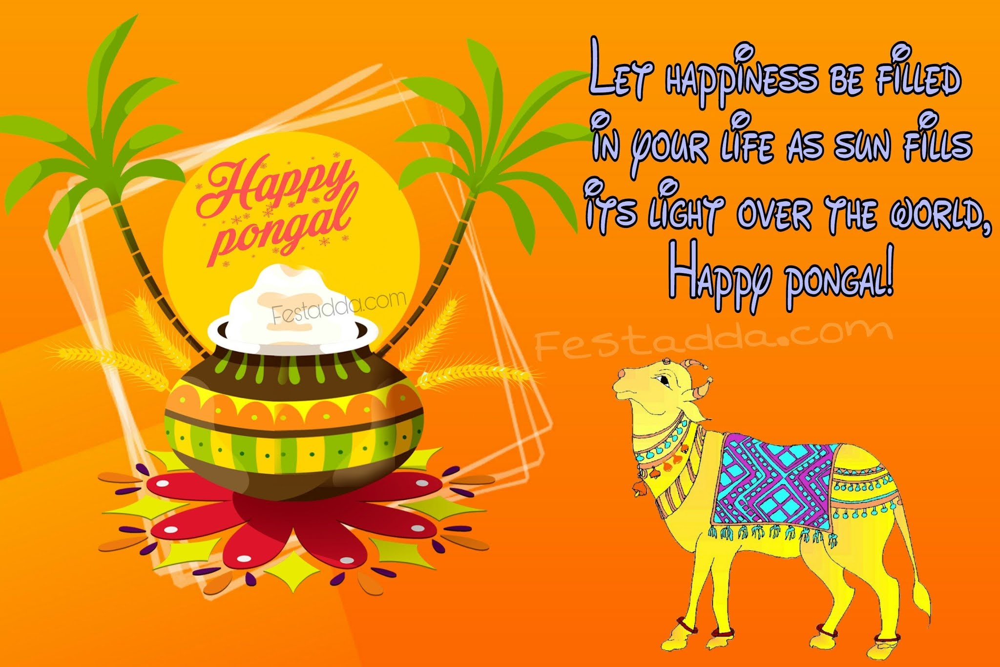 Happy Pongal 2021 Wishes, Greetings, Images, Quotes, Status, Messages, Photos