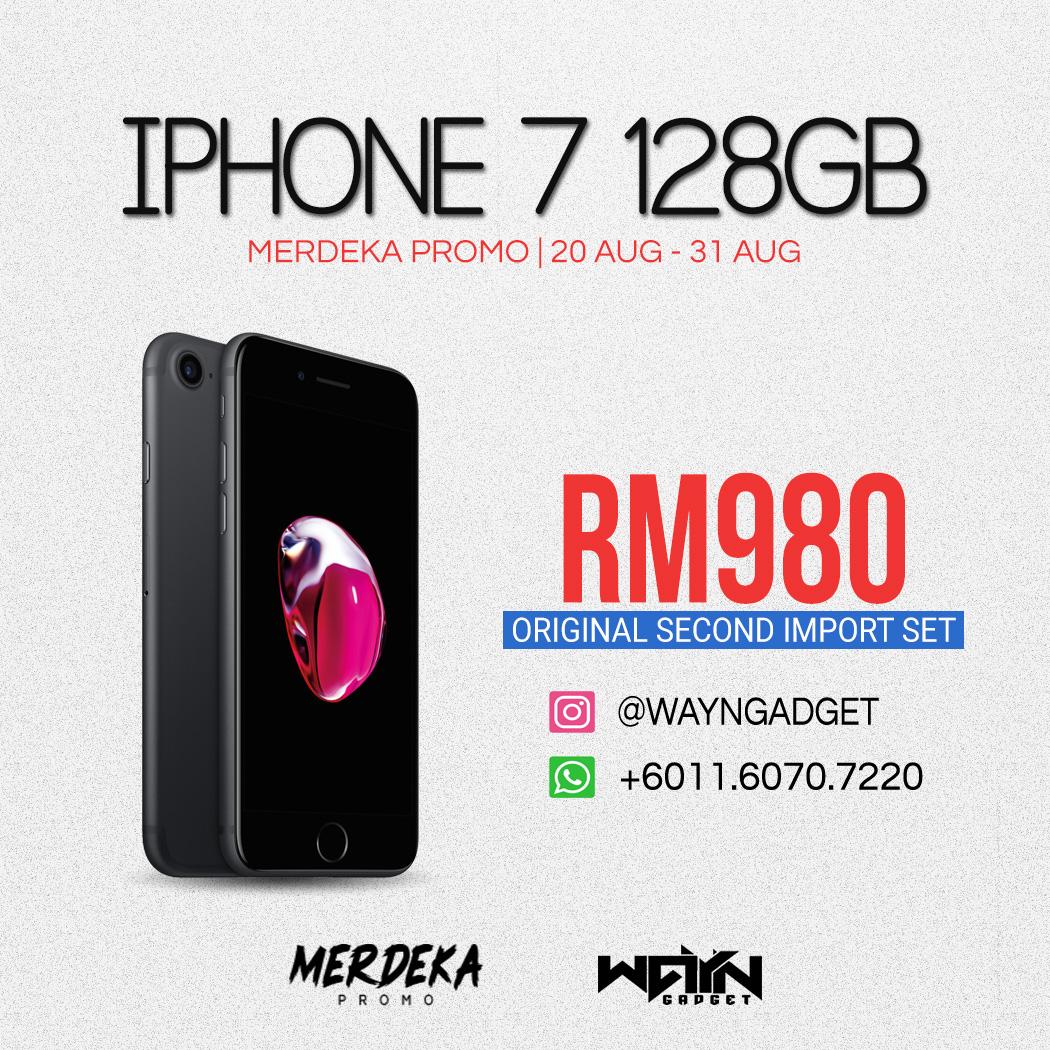 Iphone 7 128GB Matte Black