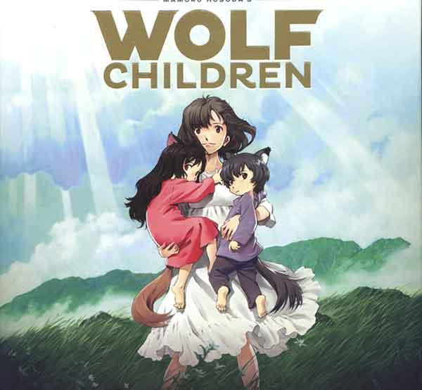 Anime yang bikin nangis menurut orang dewasa Jepang - Wolf Children