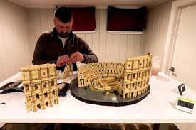 Man sets Guinness record for fastest time to build Lego's largest set interesting news 