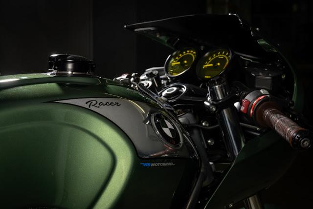 BMW R Nine T By VTR Customs Hell Kustom