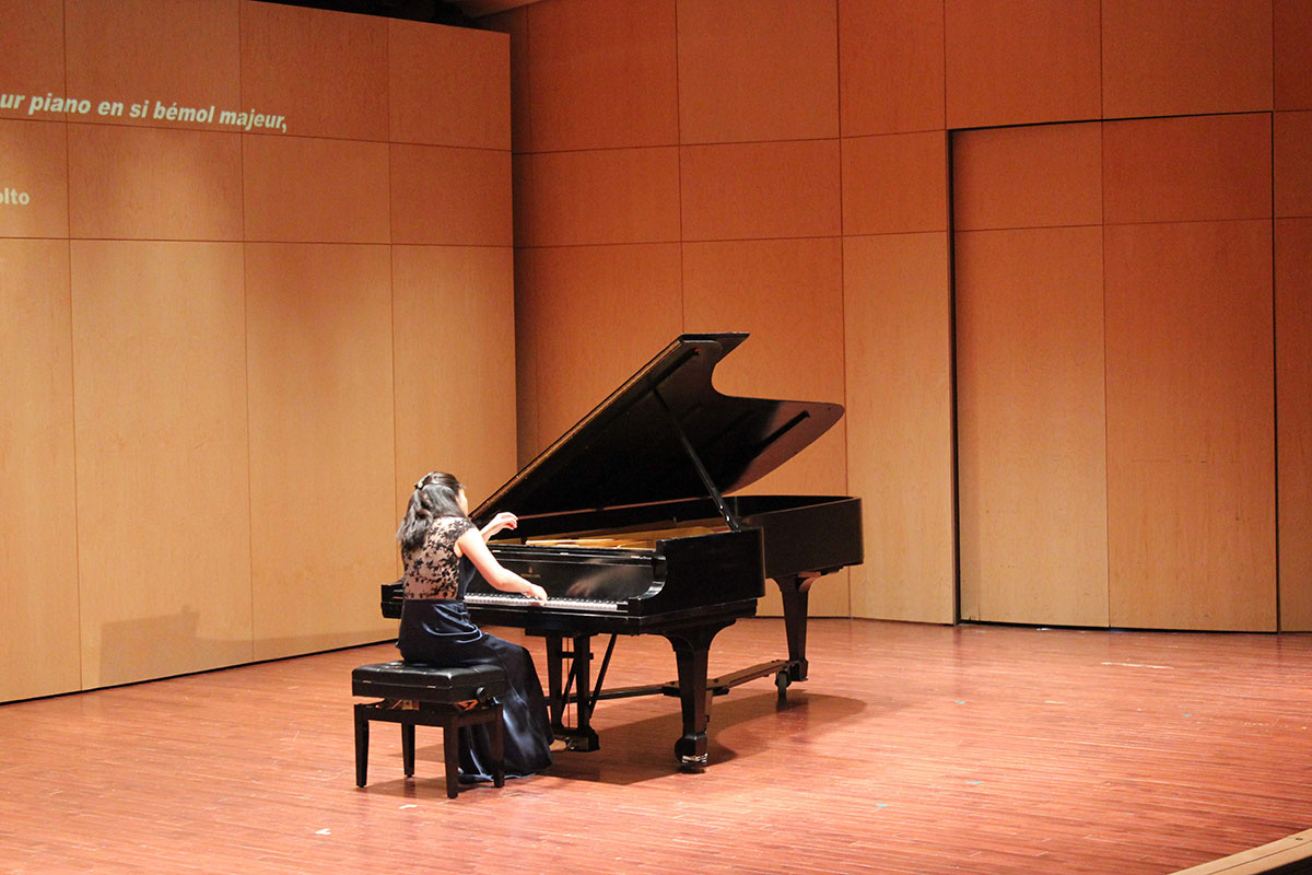 Pianiste en action