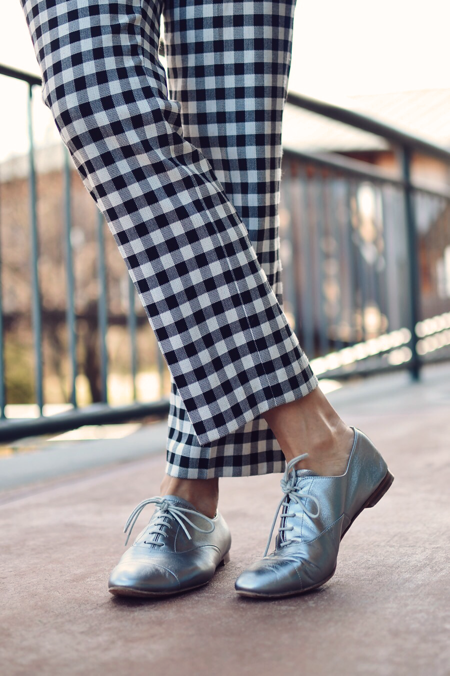 How to wear gingham pants