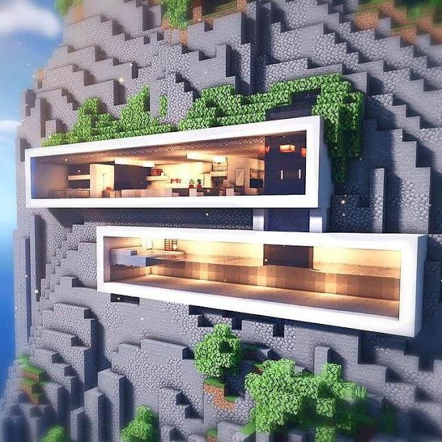 Minecraft Modern House Designs