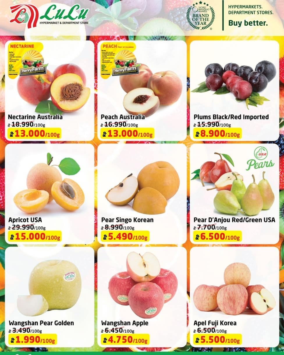 #LuluStore - Promo Exotic Fruits Imported Fair Periode 18 - 31 Desember 2018