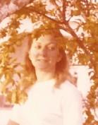 Eva en Chiclana. Verano de 1980