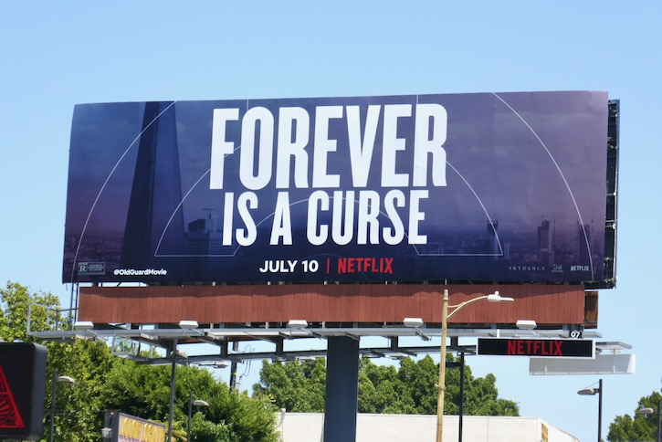 Old Guard Forever is a curse billboard