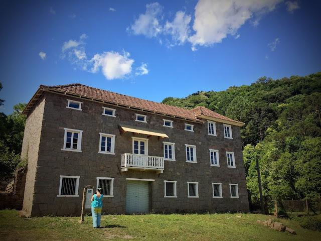 Casa Merlin, parte din Caminhos de Pedra; Rio Grande do Sul, Brazilia