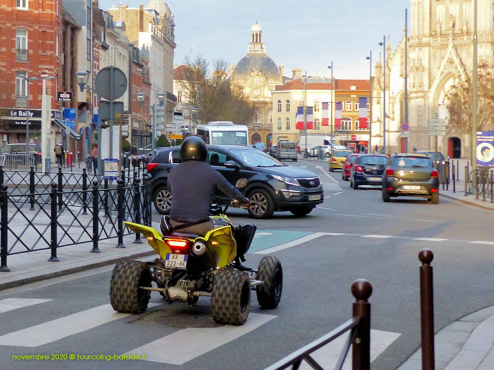 Quad, rue des anges Tourcoing 2020