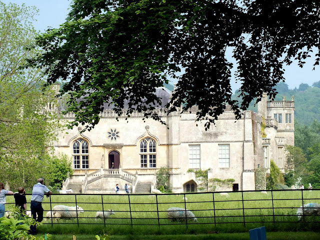 visitar la Abadía de Lacock, aparece en Harry Potter
