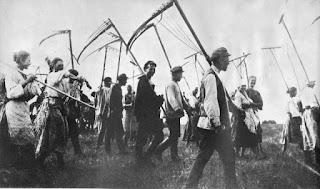 Campesinos rusos 1917