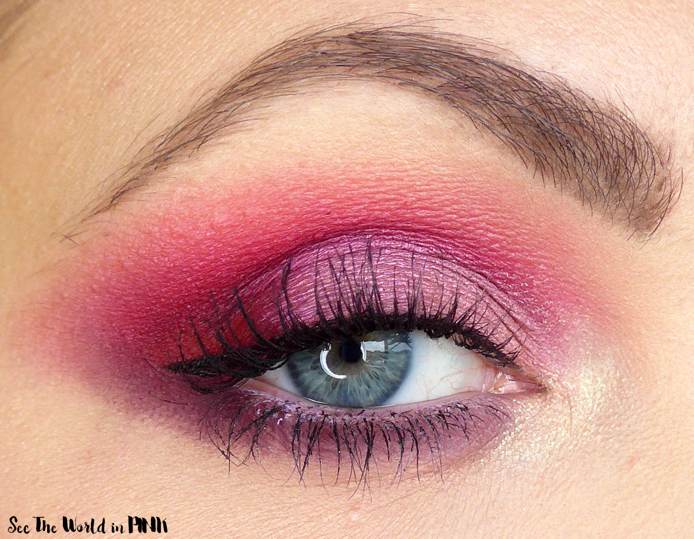 February Shop My Stash - Pink Valentine's Day Look and Duping The Vibes Of The Natasha Denona Love Palette