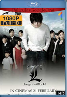 Death Note: L Cambia el Mundo [2008] [1080p BRrip] [Subtitulado] [GoogleDrive]