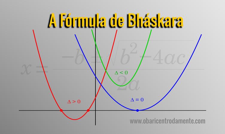 A fórmula de Bháskara