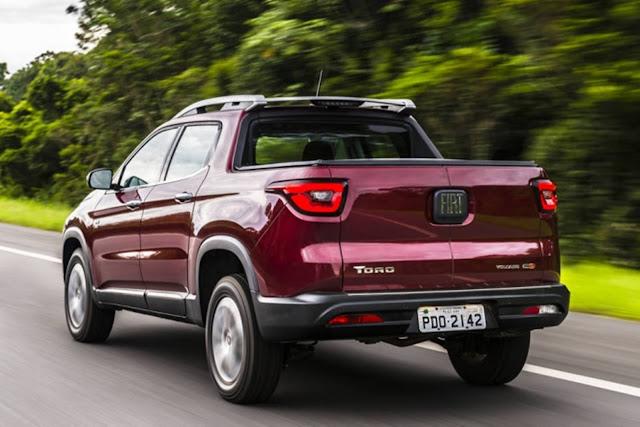 Fiat Toro - segundo comercial leve mais vendido