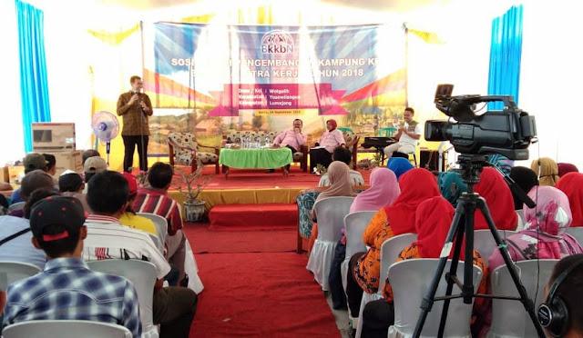 Sosialisasi Pengembangan  Kampung KB di Desa Pandanarum dan Wotgalih