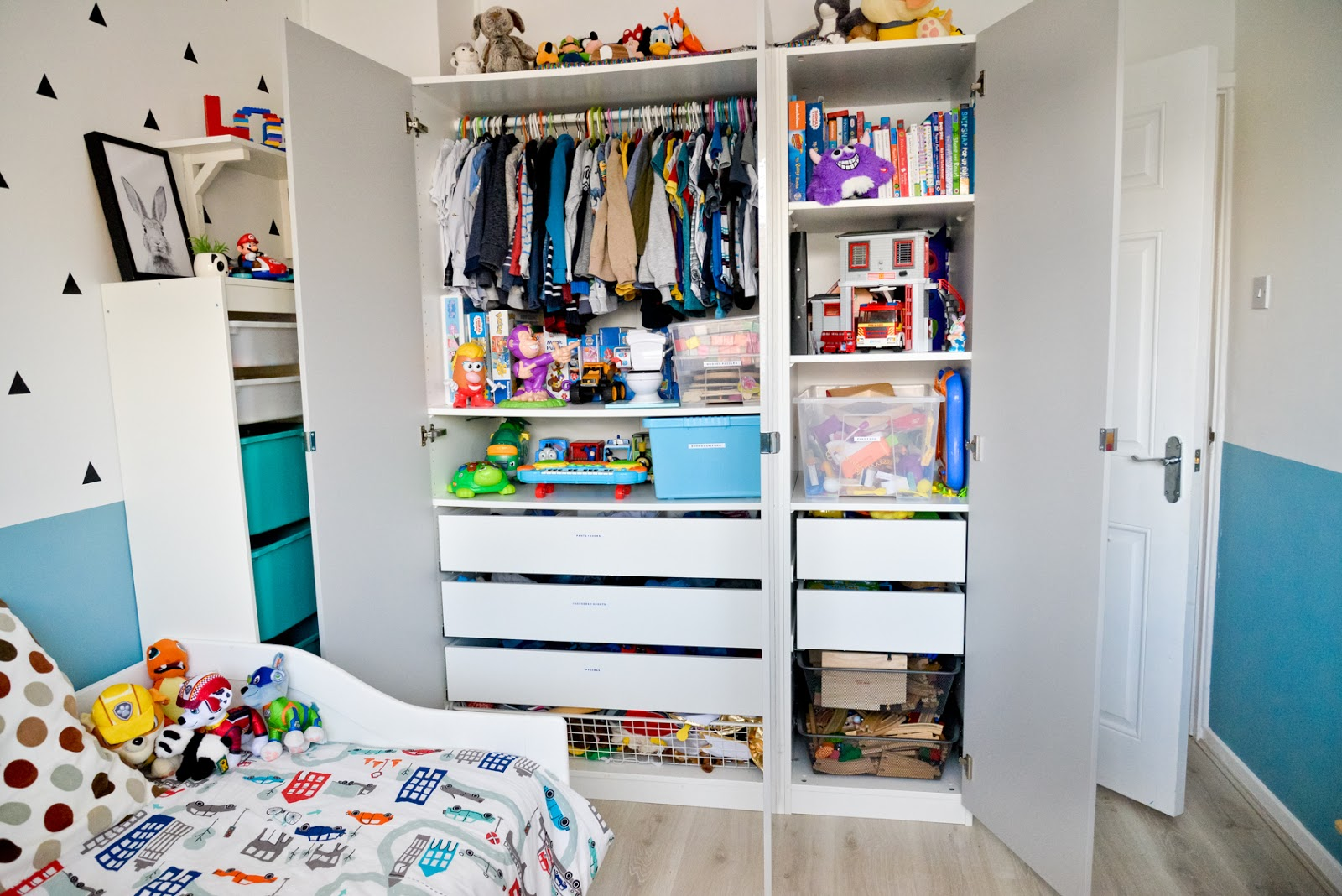 ikea pax wardrobe for kids, kids modern room, kids room decor, modern kids room, kids room ideas,
