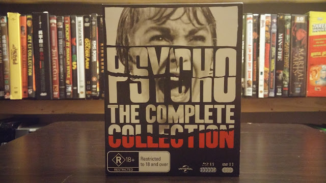 The Complete Psycho Collection from Australia