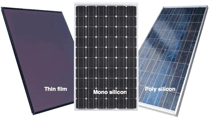 Basem Khrais الخلايا الشمسية مقارنة