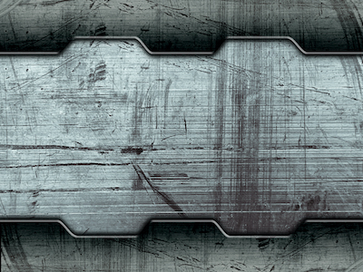 Grunge scratched metal background