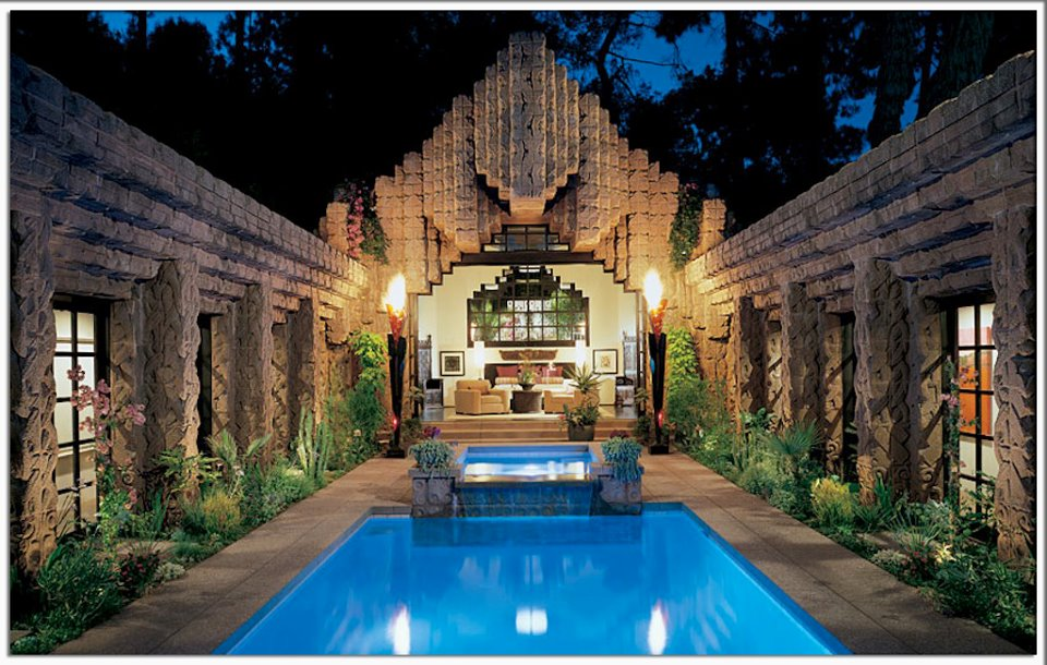 Frank Lloyd Wright House Los Angeles: Eugene Ray Architect: HOLLYWOOD ROMANZA THE > AMAZING