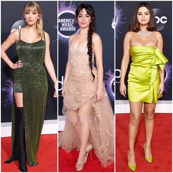 Melhores looks das celebridades no American Music Awards 2019