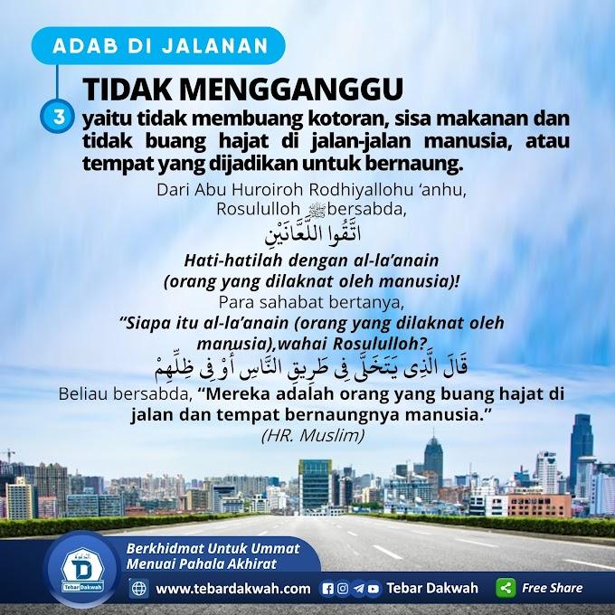 ADAB DI JALANAN | 3. TIDAK MENGGANGGU