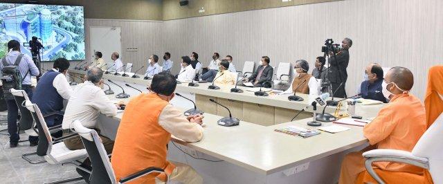 मुख्यमंत्री योगी ने प्रवासी भारतीय विभाग, उत्तर प्रदेश के एकीकृत वेब पोर्टल का शुभारम्भ किया
