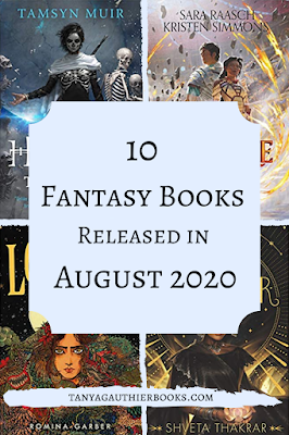 10 Fantasy Books Released in August 2020
