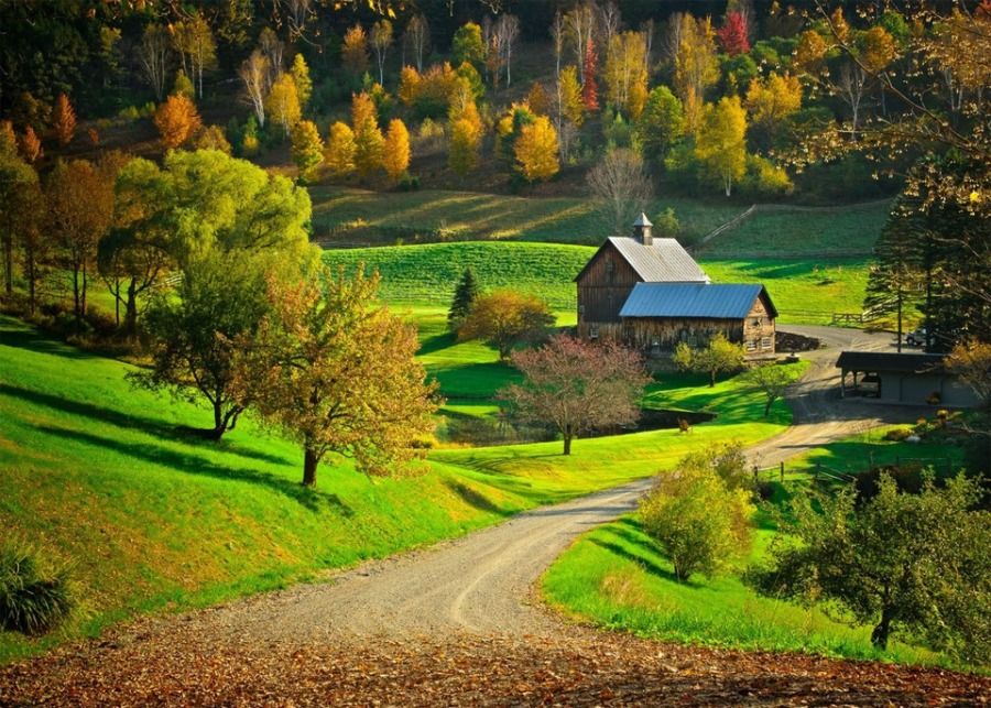 New Hampshire Fall Foliage Wallpaper Respingos Planeta Terra
