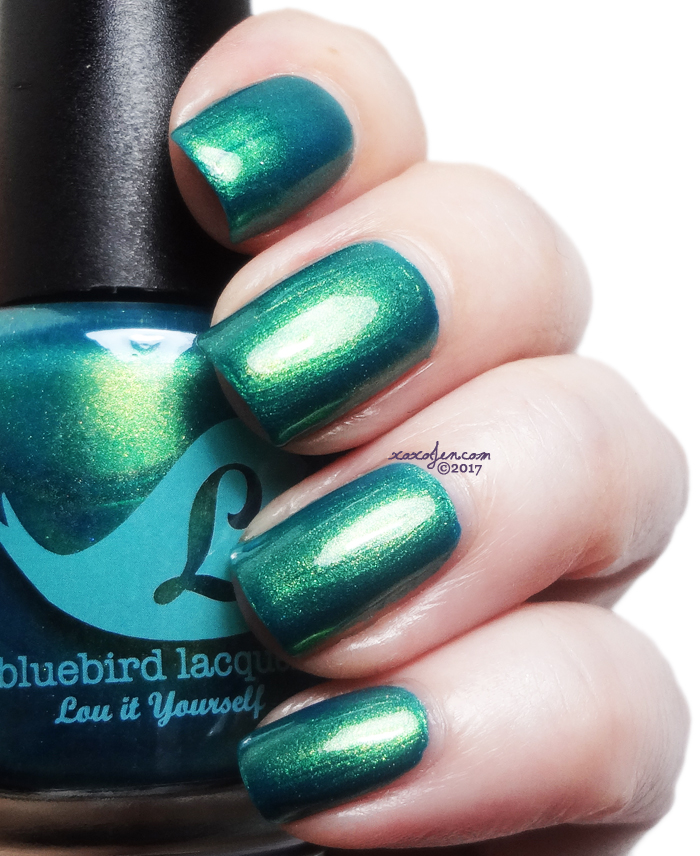 xoxoJen's swatch of Bluebird Yule Get Through This