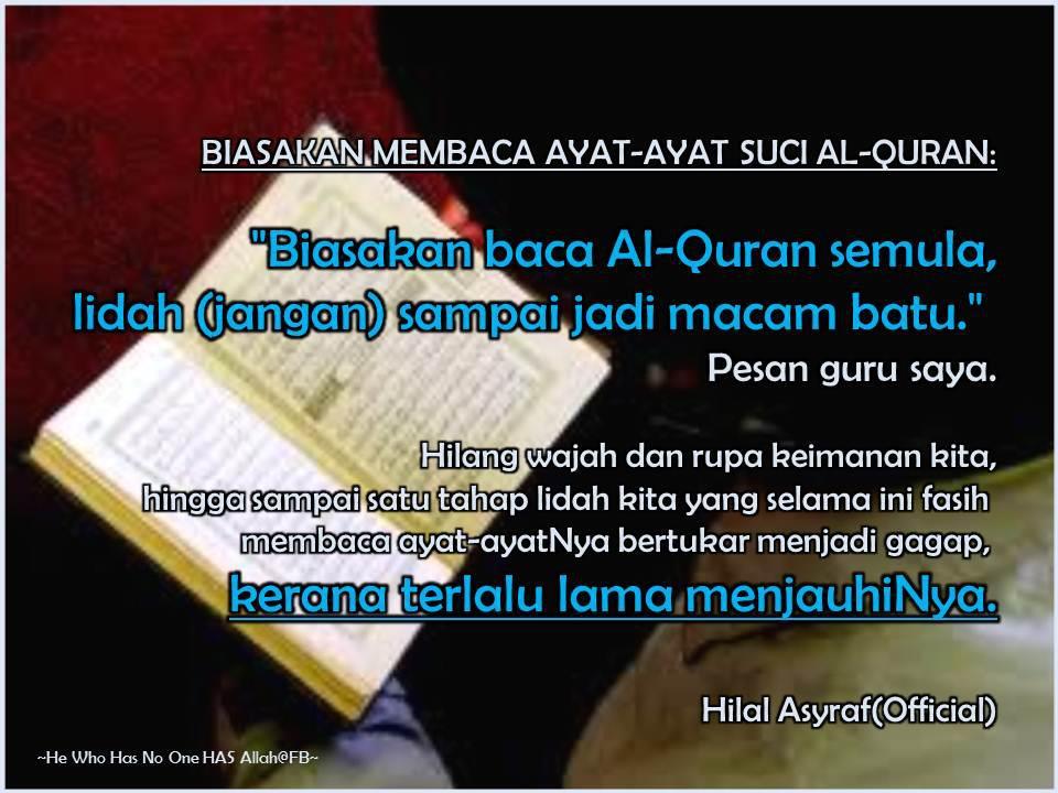 SETULUS CINTA...: Al-Quran Penawar Segala Penyakit
