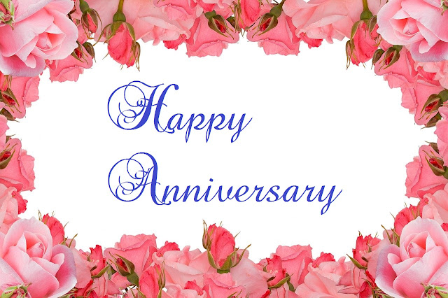Flower Happy Anniversary Free Images