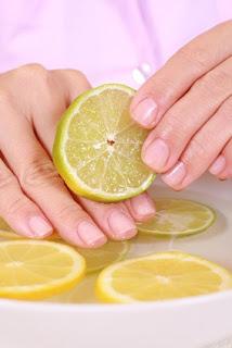 Le gommage au citron