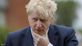"""رئيس الوزراء البريطاني بوريس جونسون """" ابقوا في منازلكم ..من أجل إنقاذ العالم """""""