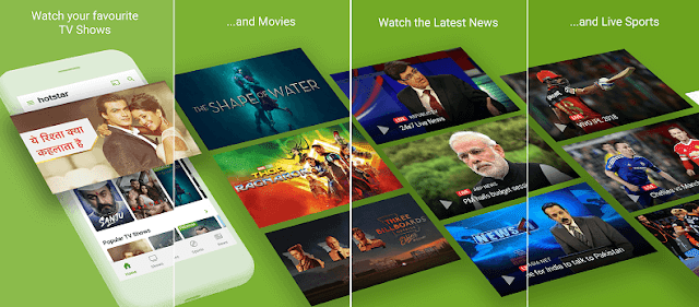 Hotstar free movie and tv show online