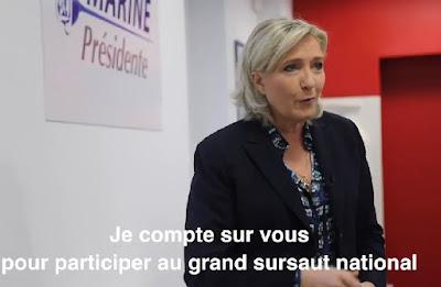 Vidéo. Présidentielle 2017: L'appel de Marine Le Pen à s'inscrire les listes électorales  marine%2Ble%2Bpen%2Bpr%25C3%25A9sidentielle%2B2017