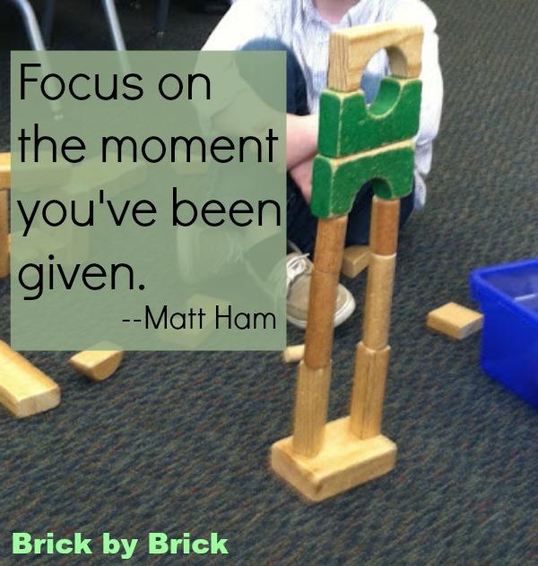 Focus quote (Brick by Brick)
