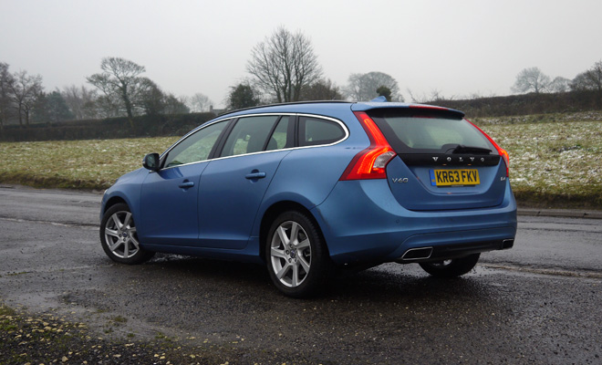 Volvo V60 D4 rear view
