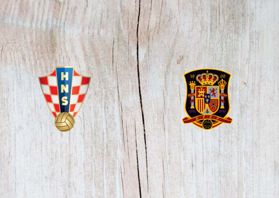 Croatia vs Spain Full Match & Highlights 15 November 2018