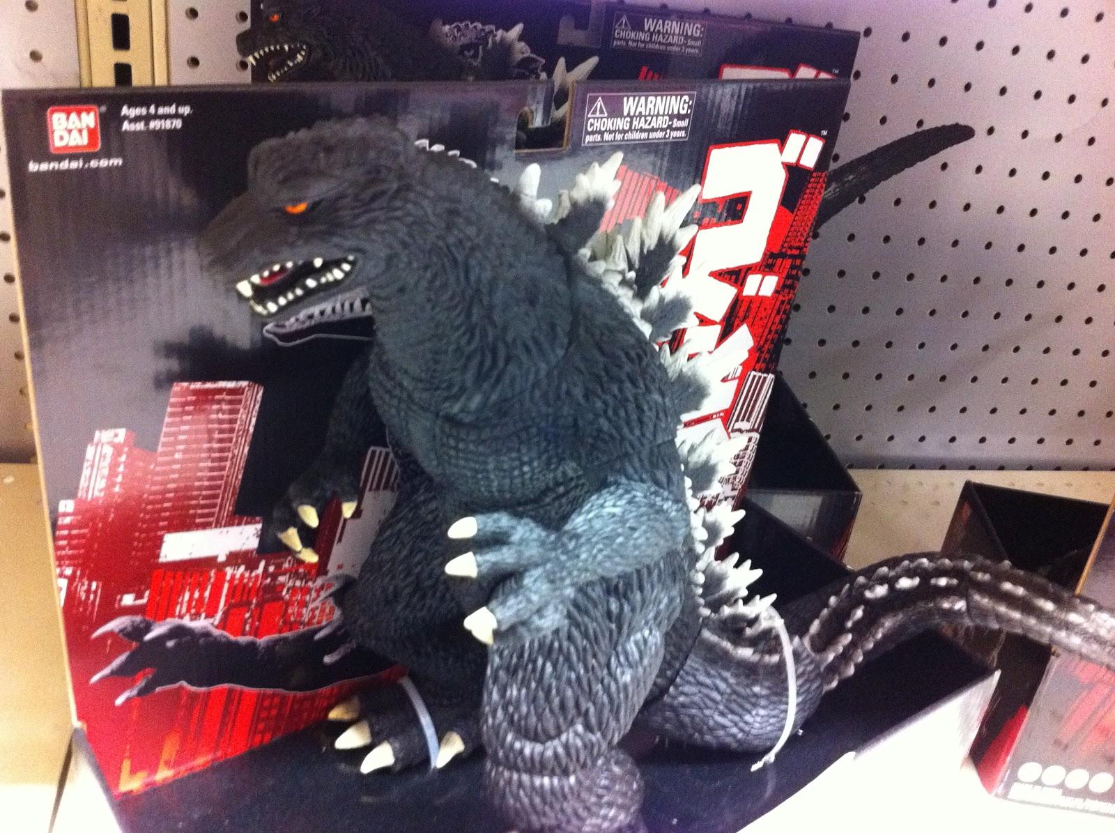 Collecting Toyz: Bandai Godzilla Toys @ Toysrus