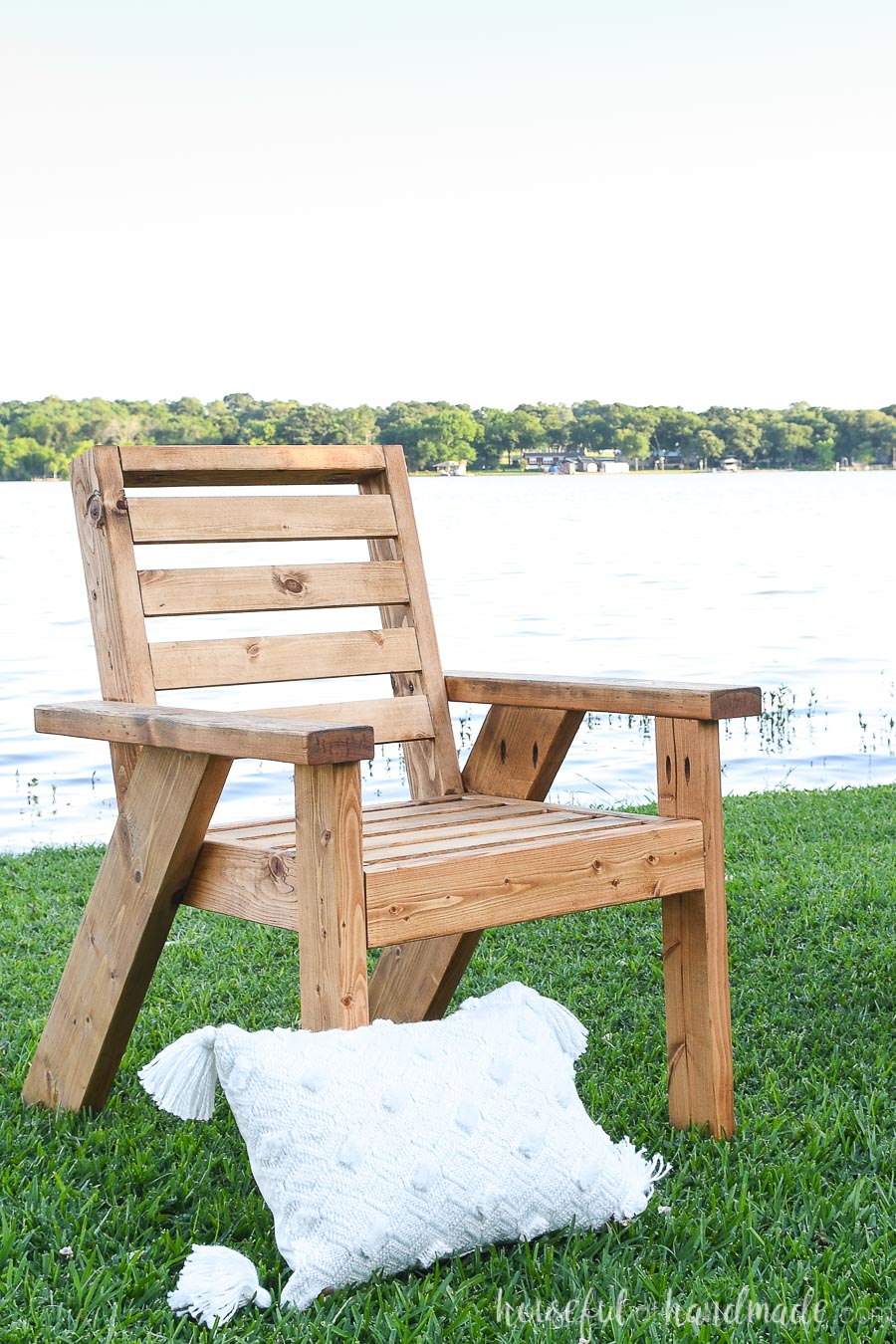 DIY outdoor lounge chair build