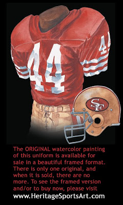 San Francisco 49ers 1984 uniform