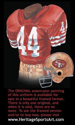 San Francisco 49ers 1984 uniform