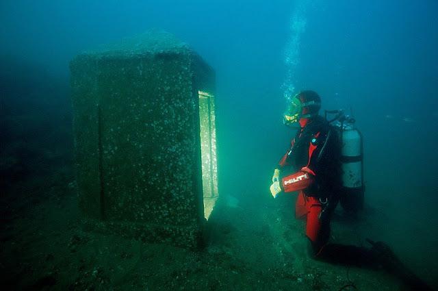 cidade subaquática Heracleion