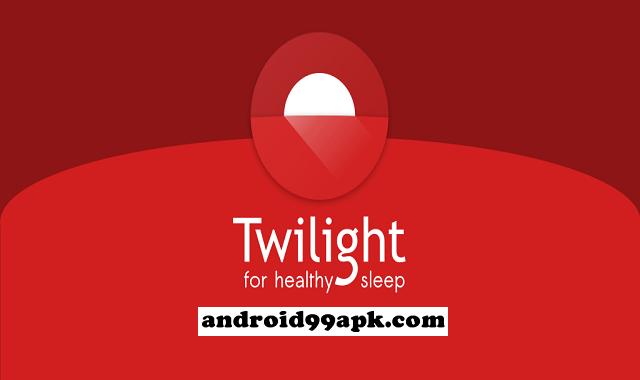 تطبيق Twilight v11.8 لحماية العين من الأشعة الهاتف كامل بحجم 7 ميجابايت للأندرويد