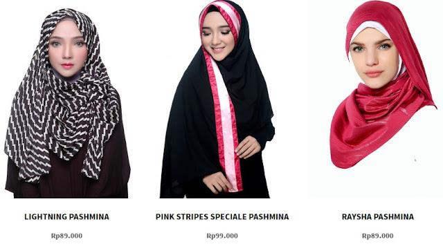 Tempat Belanja Hijab Yang Fashionable