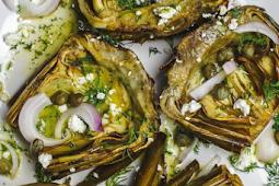 Mediterranean Roasted Artichoke